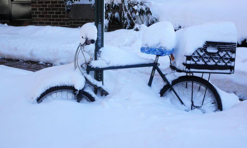 Bike in the Snow, DC
