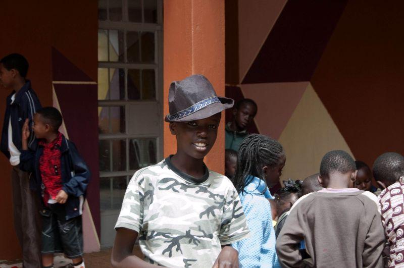 Boy in a hat, Kawangware, Nairobi