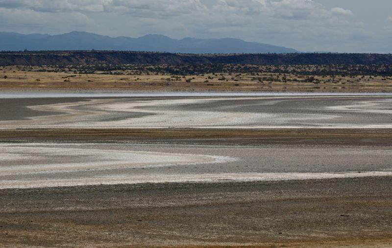 Lake Magadi salt pans