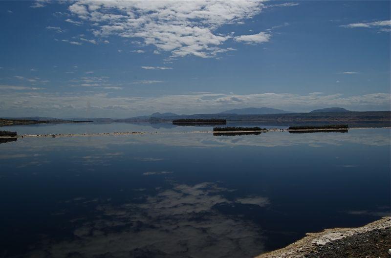 Lake Magadi mineral deposits