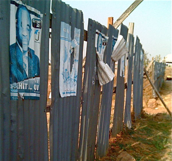 Political Posters in Abuja