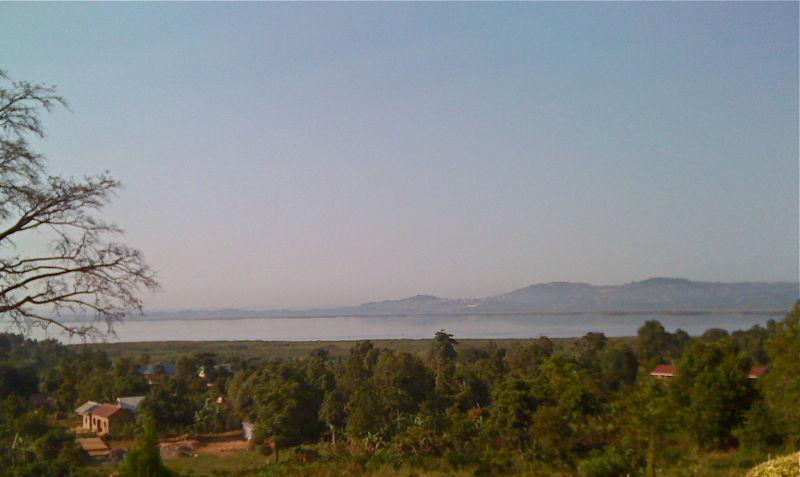 Lake Victoria landscape, Uganda