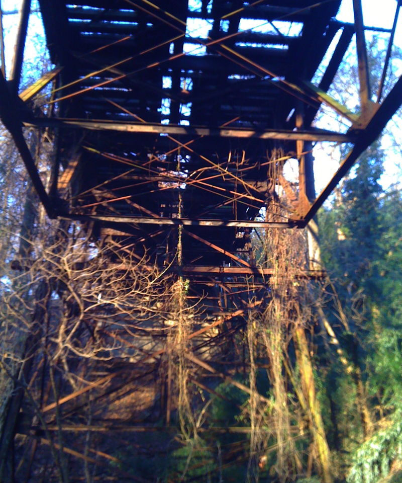 Abandoned Railroad Trestle, Washington DC