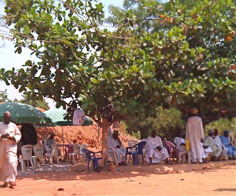 Money changers in Abuja, Nigeria