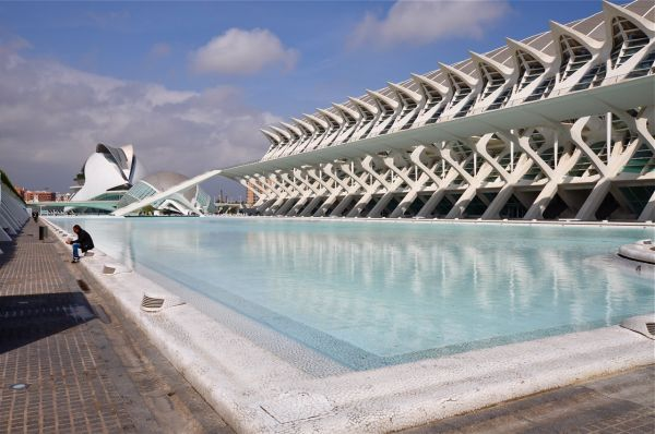 City of Arts and Sciences, Valencia Spain