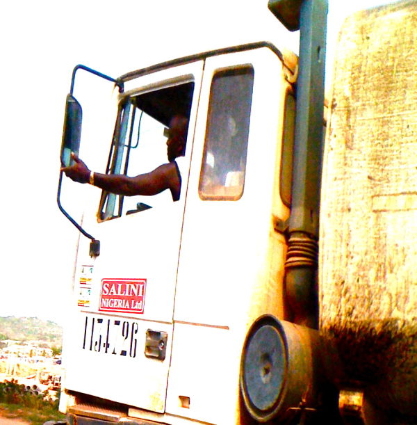 Trucker in Abuja