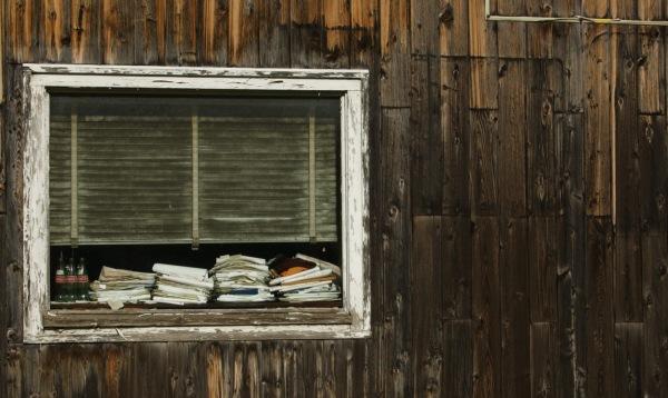 Old window, Adams, Massachusetts