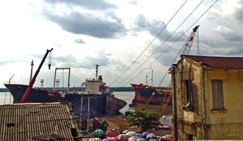 Port of Calabar, Nigeria