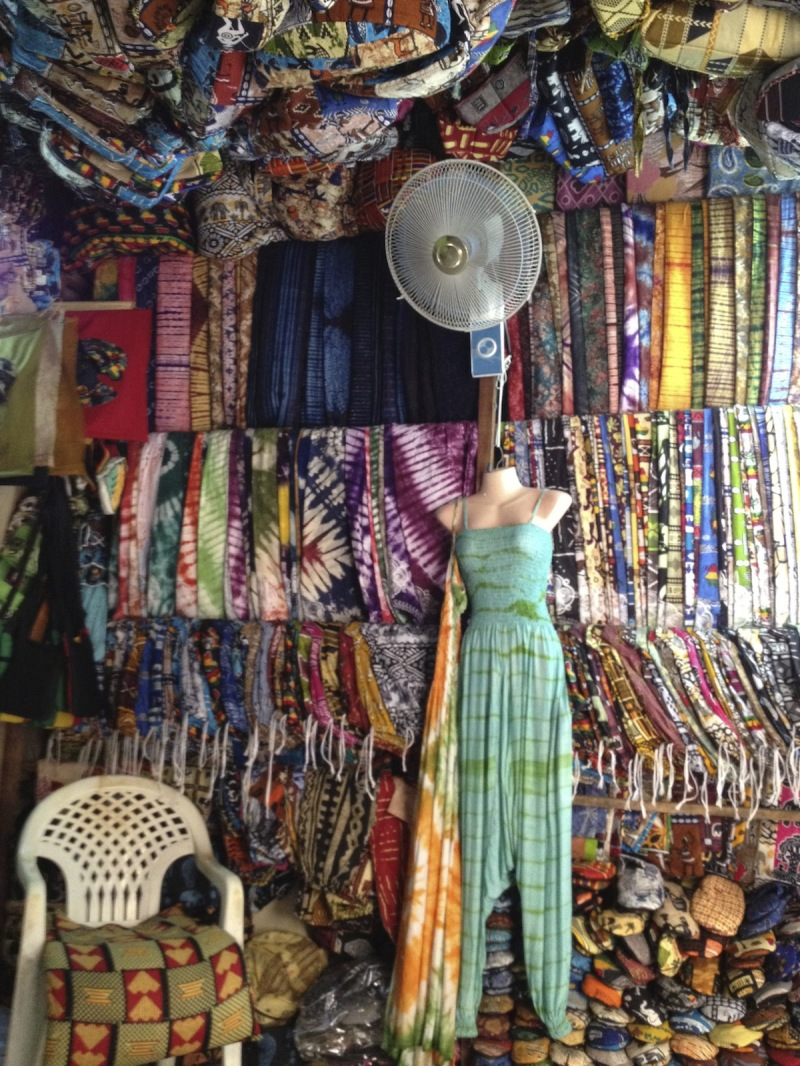 Market stall, Dakar Senegal