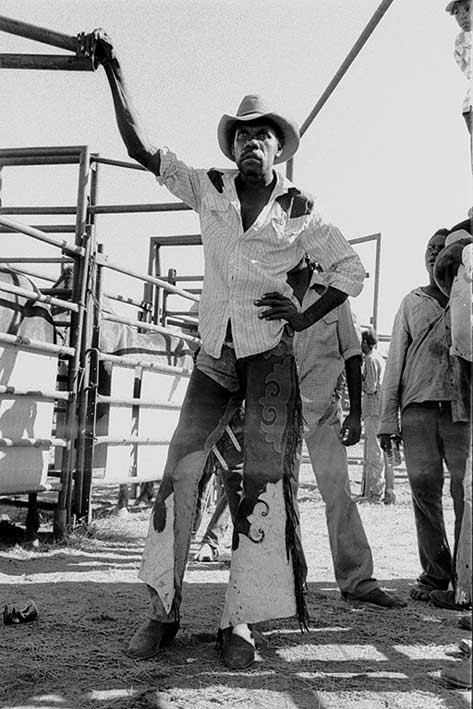 Aboriginal cowboy, Ngaliwurri rodeo