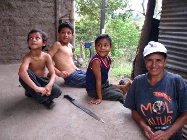 Farming Family, Villa Sandino, Nicaragua
