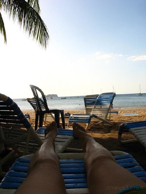 Beach legs, Costa Rica