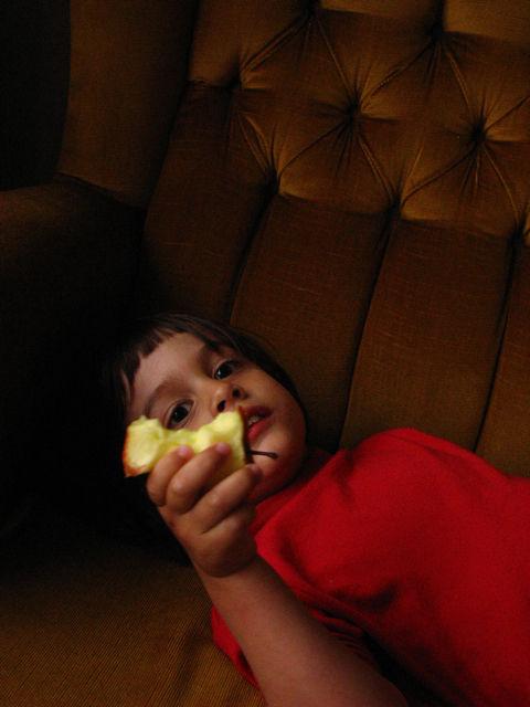 Apple, Afternoon, Rain