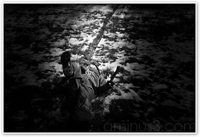 Furious - black and white photo by Richard Vanek