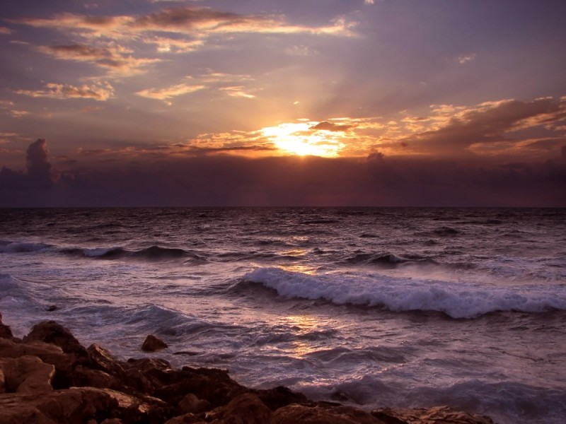 Seascapes - the beaches of Tel Aviv, Israel