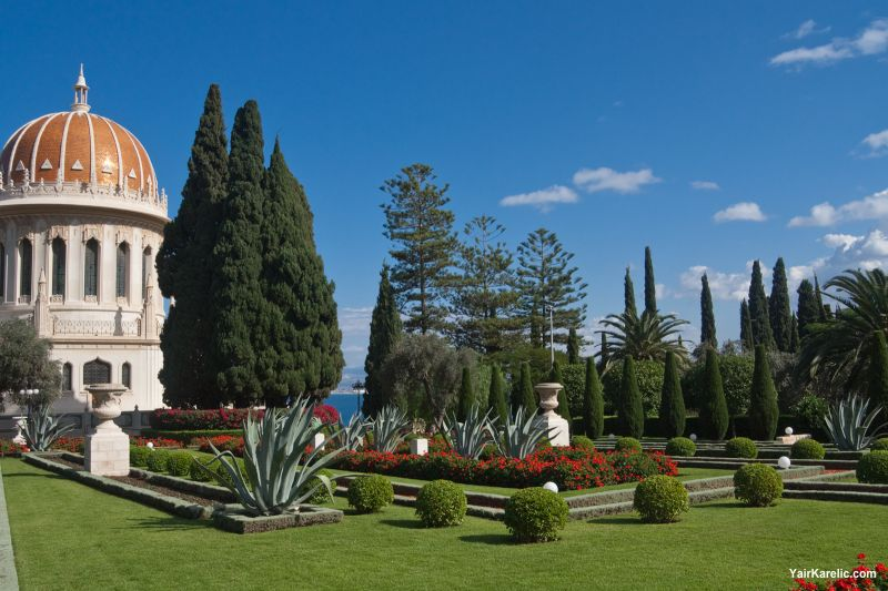 The Bahá'í Gardens in Haifa, Israel