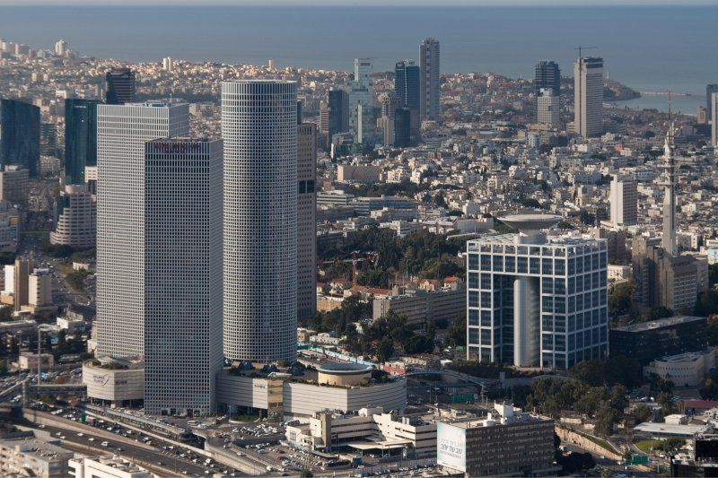 A Bird's-Eye View of Tel-Aviv