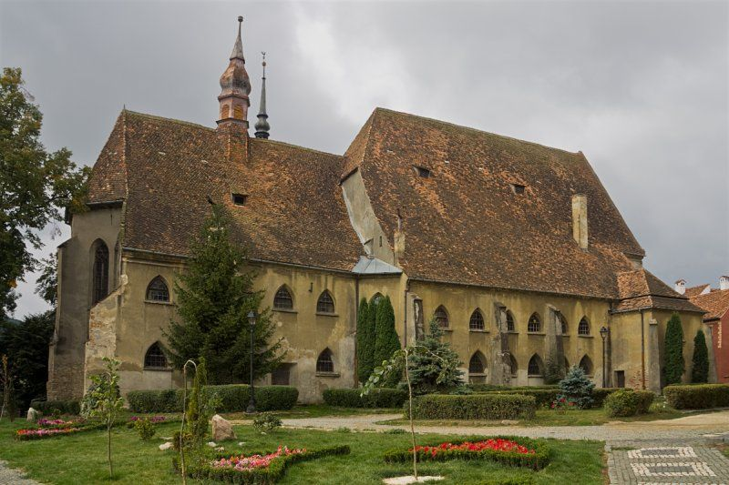 The Church of the Dominican Monastery, Sighisoara,