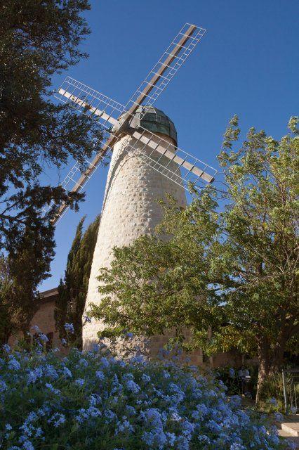Windmill at Yemin Moshe, Jerusalem (Israel)