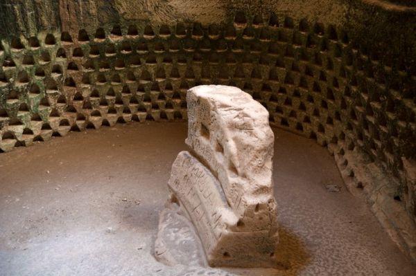 The Polish Cave, a columbarium at Tel Maresha