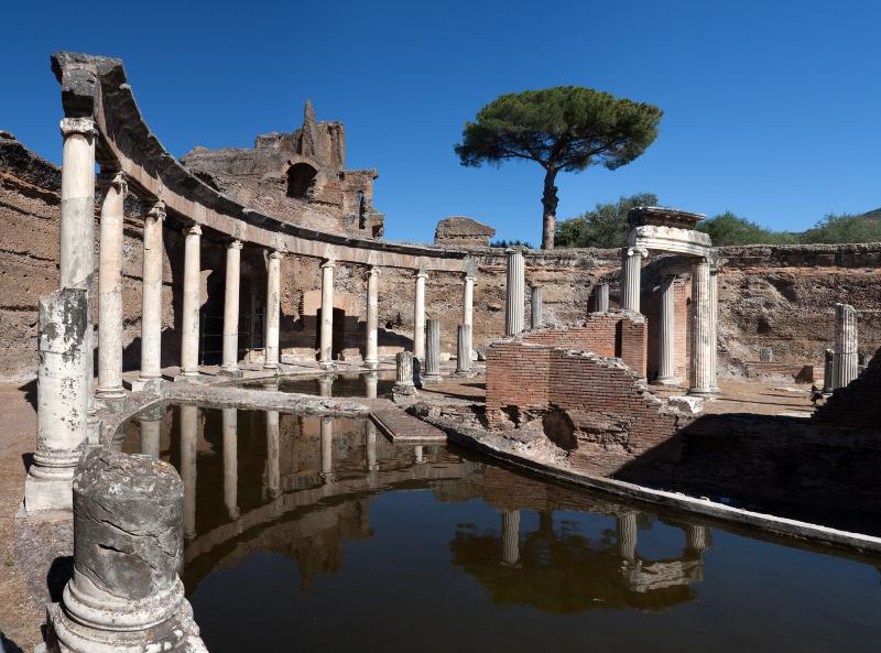 The Maritime Theatre in Hadrian's Villa, Tivoli