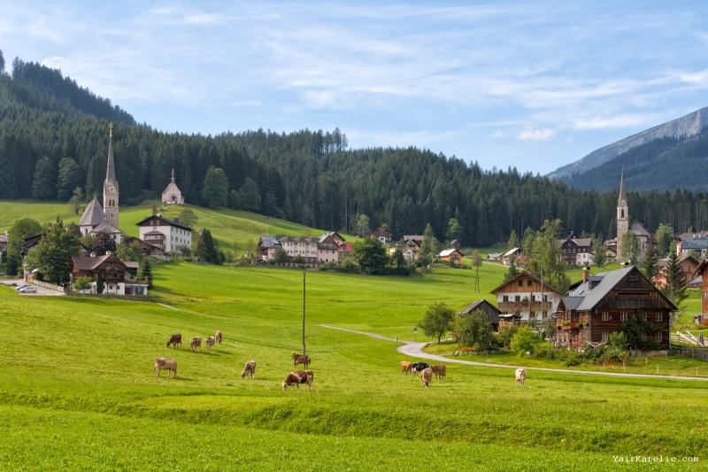 Gosau, Salzkammergut, Austria