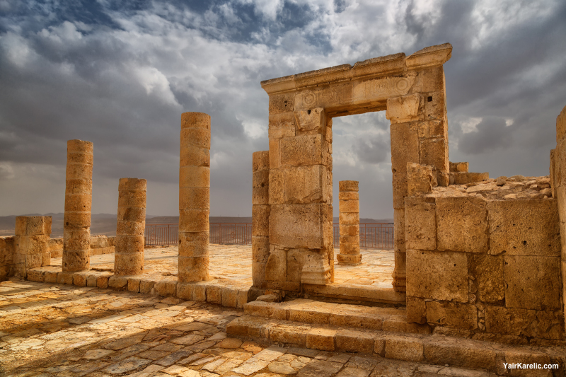 Ruins of Nabatean Temple
