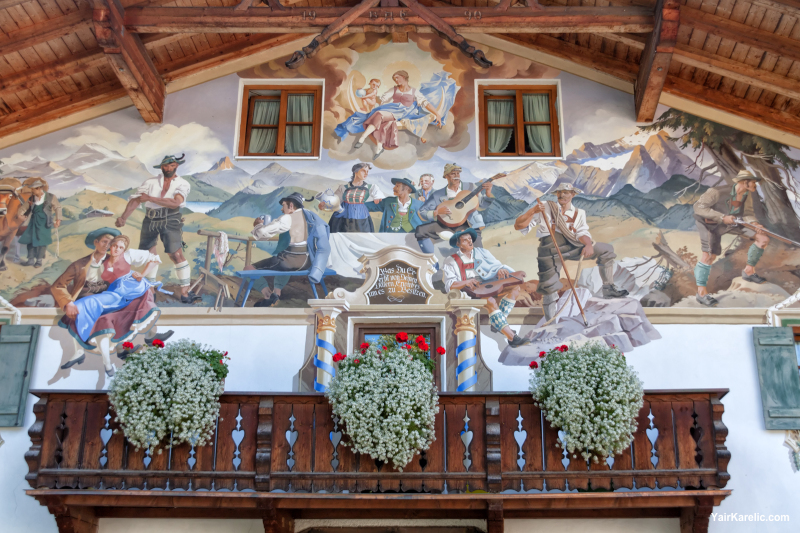 Decorated Facade, Garmisch-Partenkirchen, Bavaria