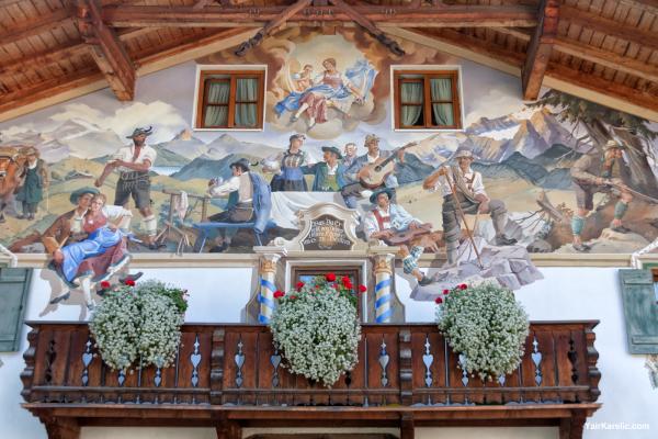 Decorated Facade, Garmisch-Partenkirchen, Bavaria
