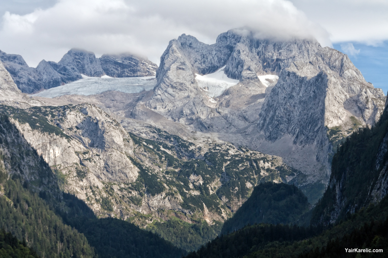 Dachstein Massif as seen from Gosausee