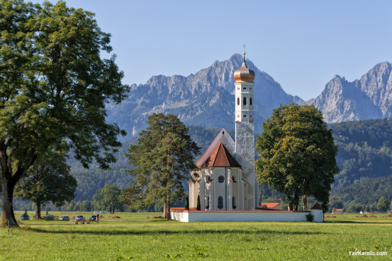 St. Coleman's Church in Schwangau