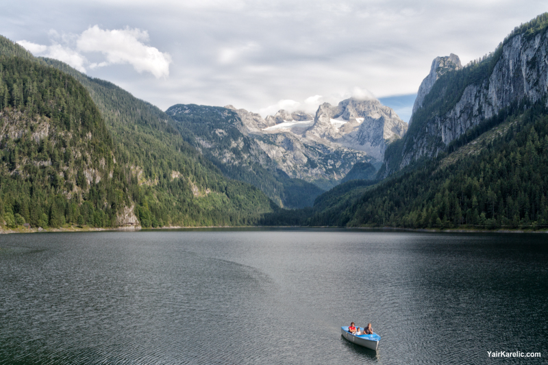 Gosau Lake and the Dachstein Massif