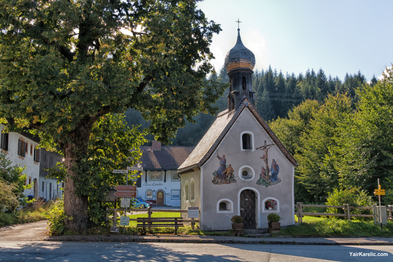 Church in Klais, Garmisch-Partenkirchen