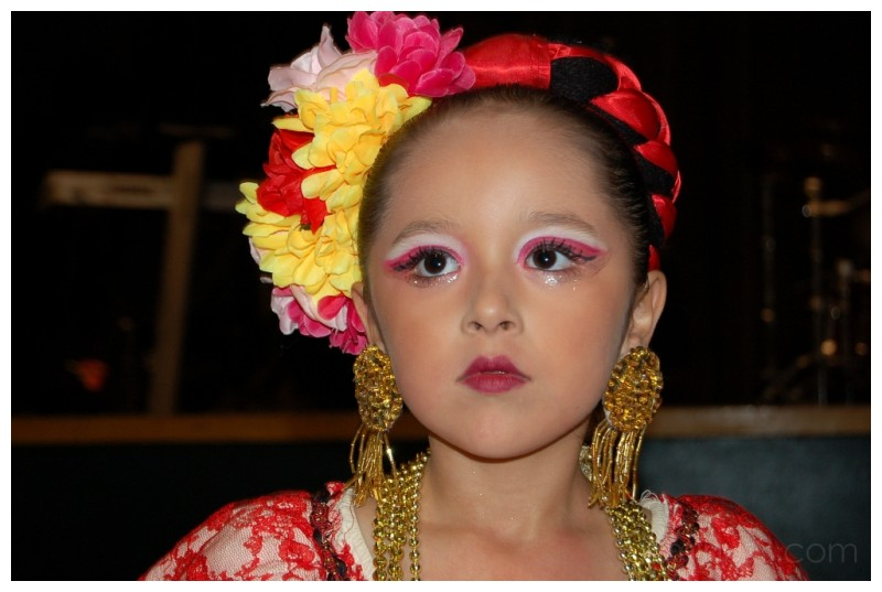 Young Flamenco Dancer..