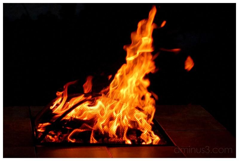 Firepit..