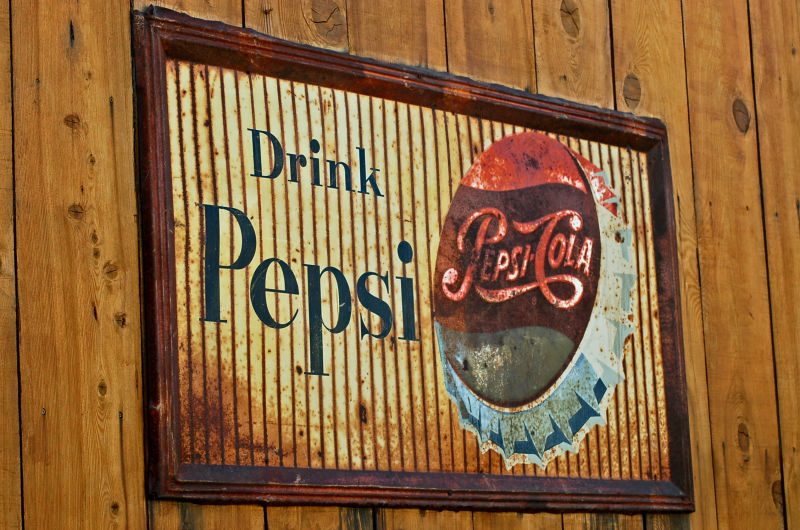 Old Pepsi Cola Sign