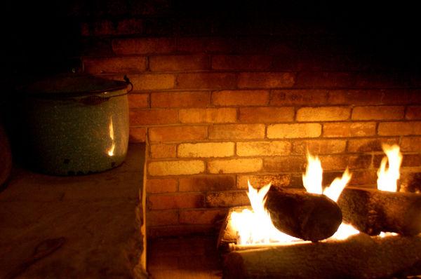 Fire Place & Stew Pot
