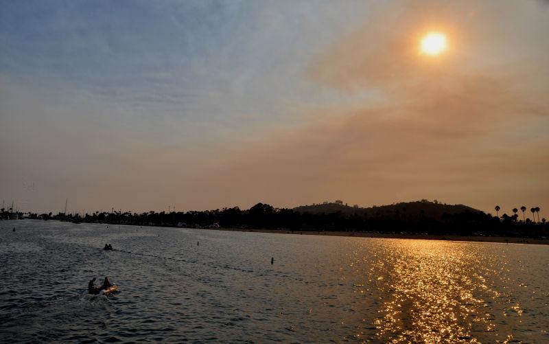 Santa Barbara at Sunset..