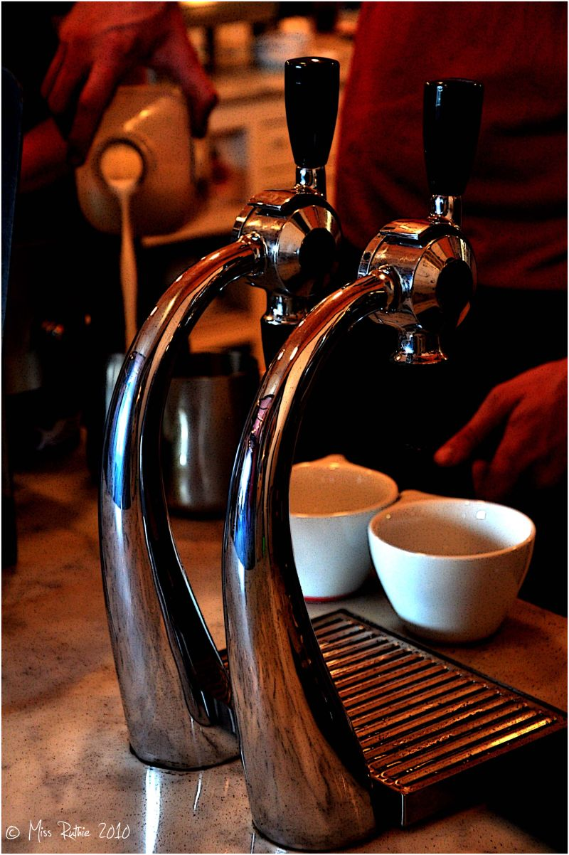 Making Coffee..