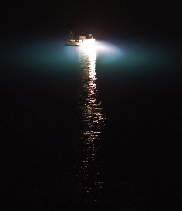 SHIP ON THE DARK NIGHT