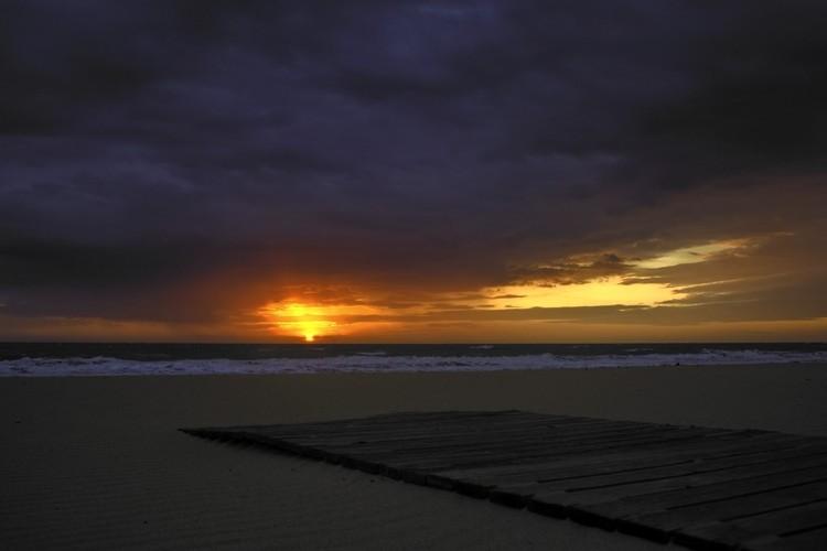 PASARELA CHIPIONA. SUNSET 1