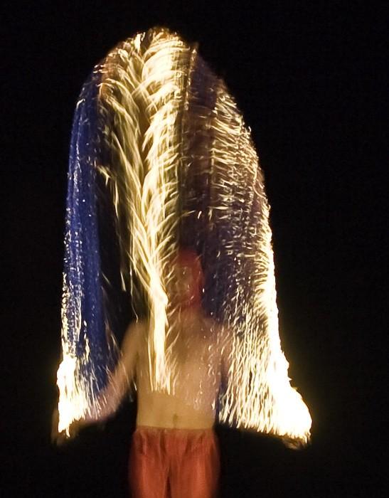 CURTAIN FIRE. MUNDO SHOW - 2