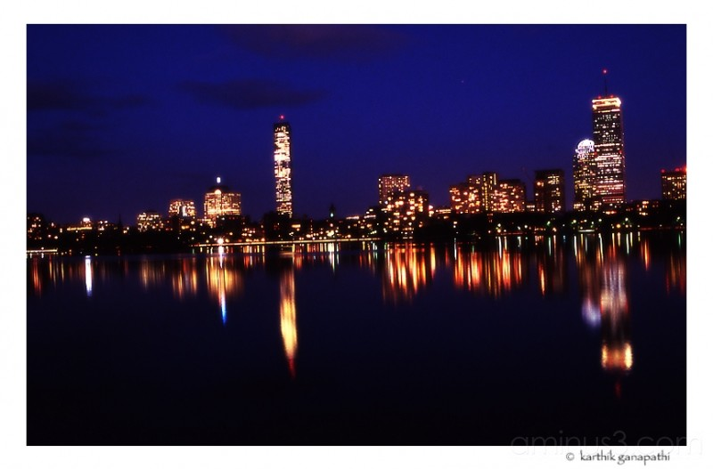 Boston at Night