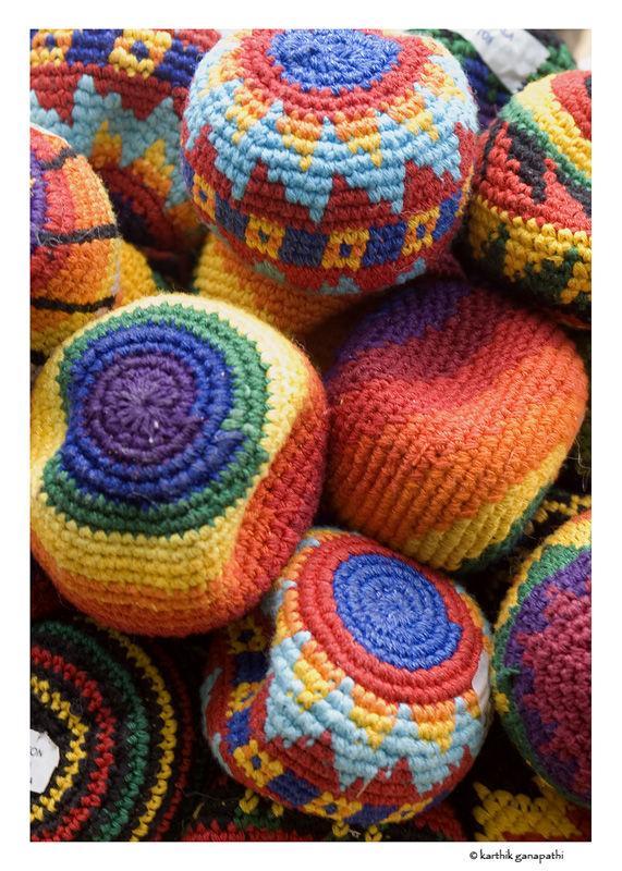Beanies, wool, Peru