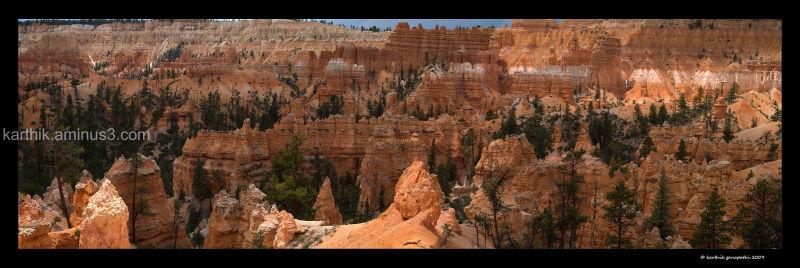 Bryce canyon, Quuen's garden train