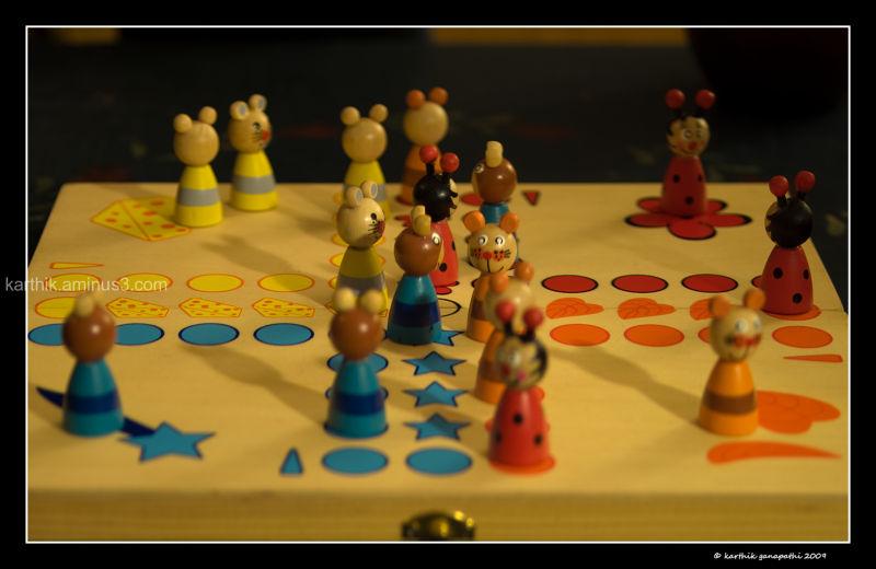 Board games, ludo