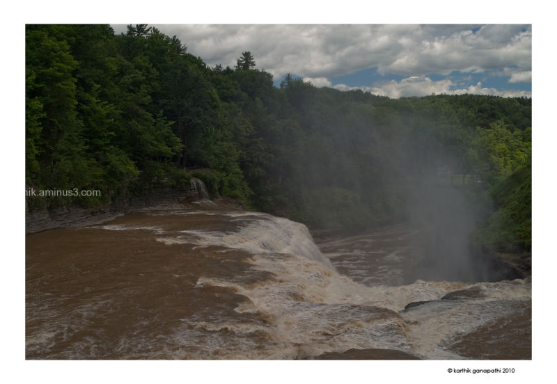 Letchworth state park, upper falls, upstate NY