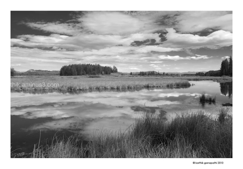 Swan Lake, Hermitage trail, GTNP, Wyoming