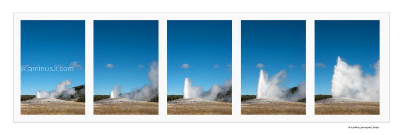 Old faithful, Yellowstone National Park, Wy