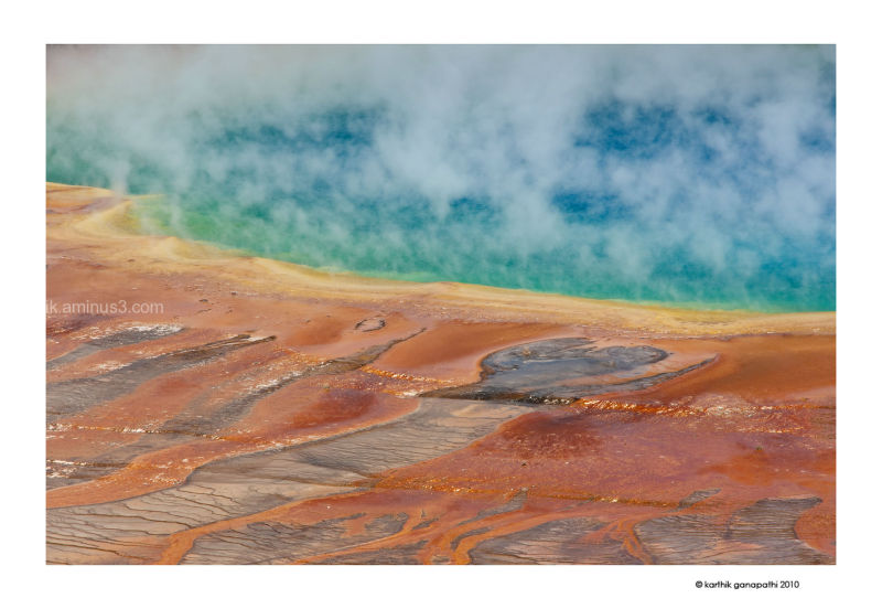 Grand Prismatic Spring, Yellowstone National Park,